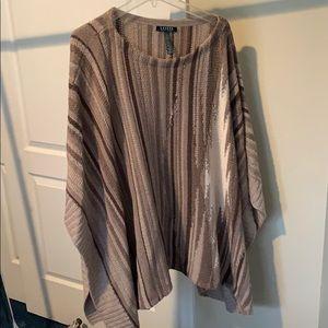 Ralph Lauren Poncho Sweater
